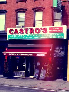 Can't even get Mexican food this good in Mexico. Myrtle Ave.Brooklyn