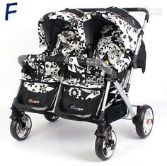 Twins Stroller Baby portable pram prams baby Travel carriage buggy baby strollers ZGC30109