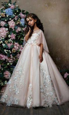 Lovely Princess Flower Girl Dress  05e613748d1