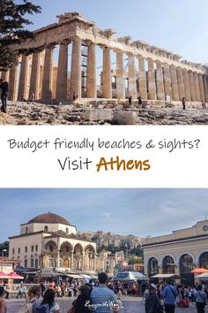Your guide to visiting Athenson the budget comfortably and cheaply on your own. From flight tickets, accommodation, to all the sights and tips that will make your trip easier. Travel more for less money. Cheap Travel, Budget Travel, Cradle Of Civilization, Sandy Beaches, The Locals, Taj Mahal, Budgeting, Island, Explore