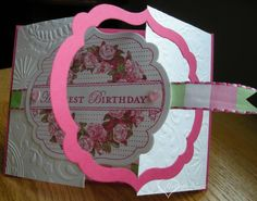 Gated Apothecary Birthday - partially open by darbaby - Cards and Paper Crafts at Splitcoaststampers