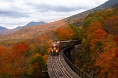 10 Best Fall Vacations In Europe - Save A Train Parc National, National Parks, Mount Washington Hotel, Disneyland, Fall Vacations, New England Fall, Destinations, Glasgow, Autumn Scenery