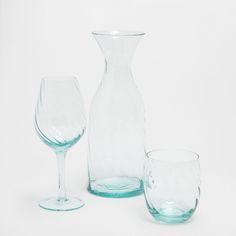 BLUE WAVES GLASSWARE