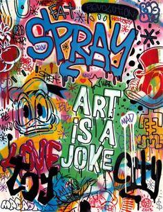SPEEDY GRAPHITO http://www.widewalls.ch/artist/speedy-graphito/ #street #art