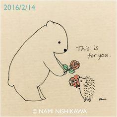 762 バレンタインデー Happy Valentine's Day!