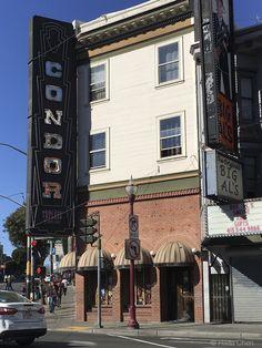 The Condor on Broadway and Columbus San Francisco, CA
