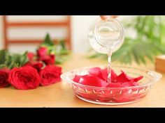 🌹 Make clear, organic, highly fragrant rose water or rose hydrosol for glowing skin & shiny hair - YouTube