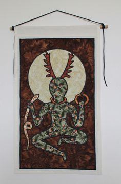 Cernunnos based on the one pictured on the gundestrup cauldron #Urbanwitchery
