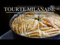 Tourte Milanaise recipe is a vegetarian version of the popular French savory pie, a perfect breakfast for Christmas morning. Christmas Breakfast, Christmas Morning, Kitchen Vignettes, Puff Pastry Dough, Pbs Food, Savory Tart, Perfect Breakfast, Breakfast Recipes, Breakfast Pie