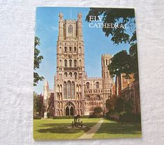 Vintage Ely Cathedral Souvenir Booklet Pitkin Pictorials 1973