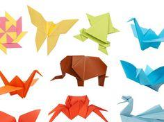 Animales y Objetos de papel...Para hacer en tus tiempos libres clavel nivel mas Avanzado edificio complicadito maestras.