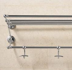 Chatham Train Rack Traditional Towel Bars And Hooks Restoration Hardware