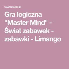 """Gra logiczna """"Master Mind"""" - Świat zabawek - zabawki - Limango Gra"""