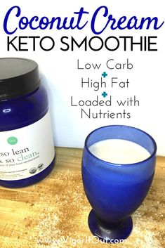 Your perfect new low carb high fat keto smoothie recipes for breakfast! At only g carbs you can learn the right way to included protein shakes into your Ketogenic Diet. Keto Meal Replacement, Meal Replacement Smoothies, Keto Smoothie Recipes, Low Carb Smoothies, Easy Smoothies, Almond Recipes, Low Carb Recipes, Healthy Recipes, Protein Recipes