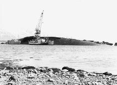 German Kriegsmarine Battleship Tirpitz Capsized #Tirpitz #Battleship #Kriegsmarine #GermanBattleship