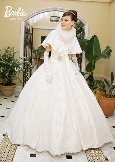 女の子の憧れ♡お姫様みたいなバービーブライダルのウェディングドレス|MERY [メリー]