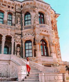 Küçüksu Palace in the asian side of Istanbul. Küçüksu Palast in der asiatischen Seite von Istanbul. The post Küçüksu Palast in der asiatischen Seite von Istanbul. Visit Istanbul, Istanbul Travel, Travel Around The World, Around The Worlds, Places To Travel, Places To Go, Turkey Destinations, Travel Destinations, Hagia Sophia