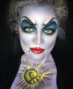 Ursula - The Most Hauntingly Gorgeous Halloween Makeup Looks on Instagram - Photos