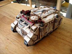 Freehand, Rhino, Tank, Warhammer 40,000
