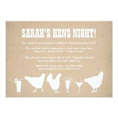 221 best hens night invitations images in 2018 bachelorette