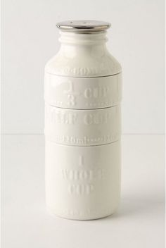 Adorable Anthropologie milk bottle measuring cups. $24.00