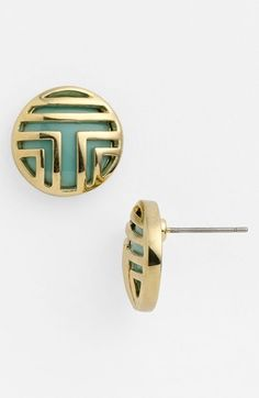 Tory Burch 'Color Frete'  Stud Earrings available at #Nordstrom