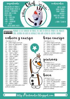 Best 12 Olaf by Sol – issuu – SkillOfKing. Olaf Crochet, Diy Crochet, Crochet Crafts, Crochet Toys, Crochet Projects, Crochet Giraffe Pattern, Crochet Patterns Amigurumi, Crochet Bookmarks, Crochet Animals