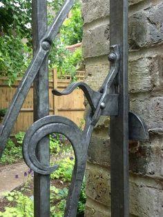 heavy duty gate latch