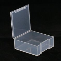 Small hinged storage box Ideal for beads sequins embellishments etc Supplied empty Can be used with Darice Bead Organiser Carry Case Size 4 2cm x 4