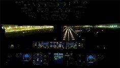 "fuckyeahairplaness: "" Emirates A380 landing in Dubai """