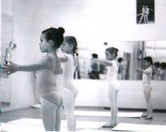 Girls in ballet class at my old studio