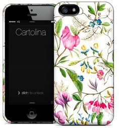 Cartolina iPhone case - Floral - Clever Girl