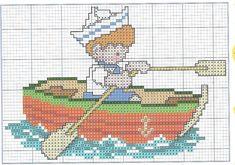 Cross Stitch Sea, Cross Stitch For Kids, Cross Stitch Charts, Cross Stitch Patterns, C2c Crochet, Needlepoint Designs, Baby Kind, Cross Stitching, Beading Patterns