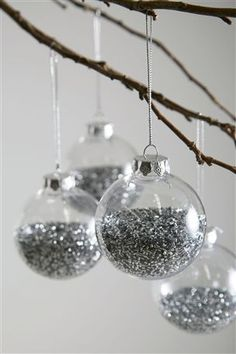 Buy Set Of 20 Silver Shatterproof Baubles from the Next UK online shop