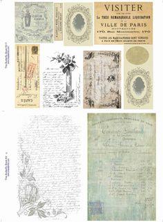 Mini Book/Album/Journal Papers