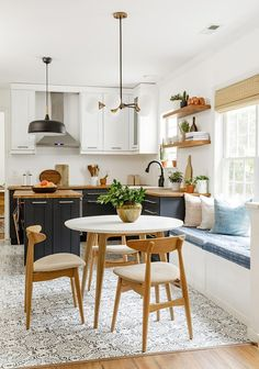 Take inspiration from these budget-friendly amazon finds to create a better apartment. Specifically for small apartments, kitchen ideas, how to set up your dining space, storage solutions on a budget and much more. #smallspaceliving Small Country Kitchens, Country Kitchen Designs, Cottage Kitchens, Cool Kitchens, Eat In Kitchen, Kitchen Dining, Kitchen Decor, Dining Area, Dining Room