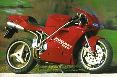 Ducati 916 a bike that changed the world of motorcyling