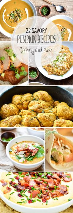 From pasta to soup and biscuits to savory sauces, here are 22 savory pumpkin recipes to spice up your fall dinner parties!: From pasta to soup and biscuits to savory sauces, here are 22 savory pumpkin recipes to spice up your fall dinner parties! Fall Dinner Recipes, Thanksgiving Recipes, Fall Recipes, Dinner Ideas, Pasta Recipes, Cooking Recipes, Healthy Recipes, Weeknight Recipes, Healthy Foods