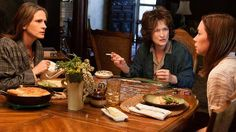 August: Osage County featuring a tour-de-force of great acting displayed by Meryl Streep and Julia Roberts.