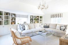 """One Room Challenge family room makeover in six weeks! Post includes """"before"""" and """"after"""" pics and full source list!"""