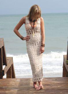 Lex and Lynne - Knitted Maxi, $338.00 (http://www.lexandlynne.com/knitted-maxi/) #fashion #resort #ootd #beach