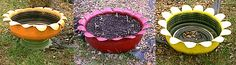 hill+landscape+with+tires | Plastic Bottles- an article on how to use plastic bottles to plant ...