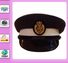 fb77223f5e6 MILITARY PEAK CAP ROYAL AIR FORCE AIRMAN PEAK CAP WITH EMBROIDERY BADGE