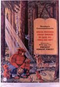 """The longest running campaign in Ad Council history, Smokey Bear and his famous warning, """"Only You Can Prevent Forest Fires,"""" was introduced to Americans in Big Bear Camping, United States Forest Service, Radio Advertising, Social Advertising, Smokey The Bears, Nature Posters, California Camping, National Symbols, Back To Nature"""