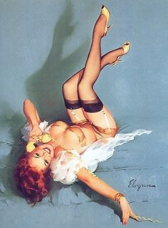Pin up girl - Gil Elvgren