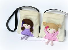 I received a custom request for two 8″ Lil' Sis My Teeny-Tiny Dolls®& Carry-Me Bags for 2 adorable sisters. Before committing to saying yes, I had to see if an 8″ Lil' …