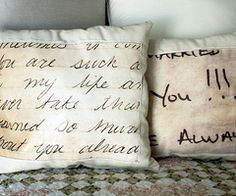 poetry pillows