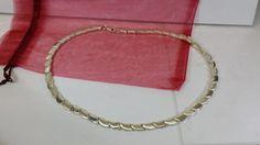 Halskette Gliederkette 60er Jahre Silber 925 SK571 von Schmuckbaron