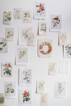 Replicate this style with our super vintage illustrations. All just €5/ea + €2 flat rate global shipping - theprintmakers.co