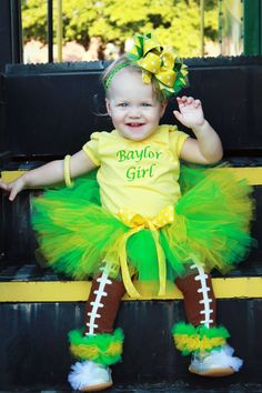 So cute! @Erin Minett Of course mine wouldn't be Baylor. Maybe a Saints one if Michelle ever has a girl.